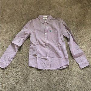 Abercrombie Kids Boys Muscle Dress  Shirt XL